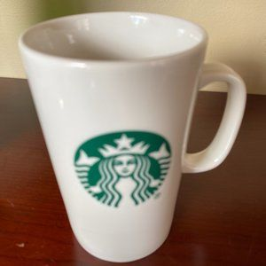 STARBUCKS 2017 Tall COFFEE CUP Ceramic LOGO Mug